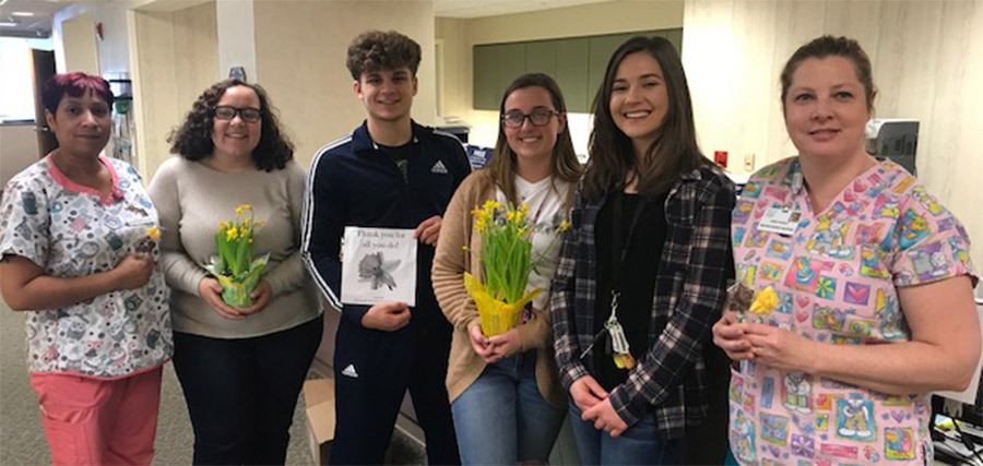 Ringgold National Honor Society donated to MVH Cancer Center photo