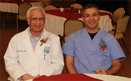 Father and son, Dr. Abdul S. Chaudry and Dr. Adil Chaudry photo