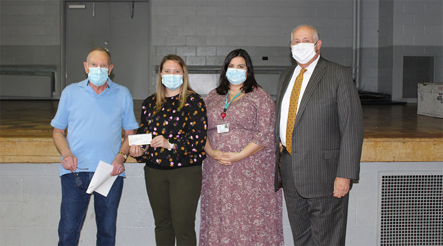 Retired Steelworkers Donate to Monongahela Valley Hospital photo