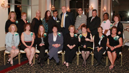 These Monongahela Valley Hospital employees were honored for 25 years of service photo