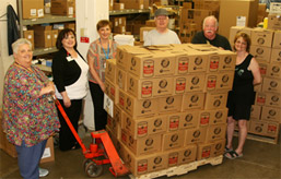 Monongahela Valley Hospital Staff Breaks Food Donation Record photo