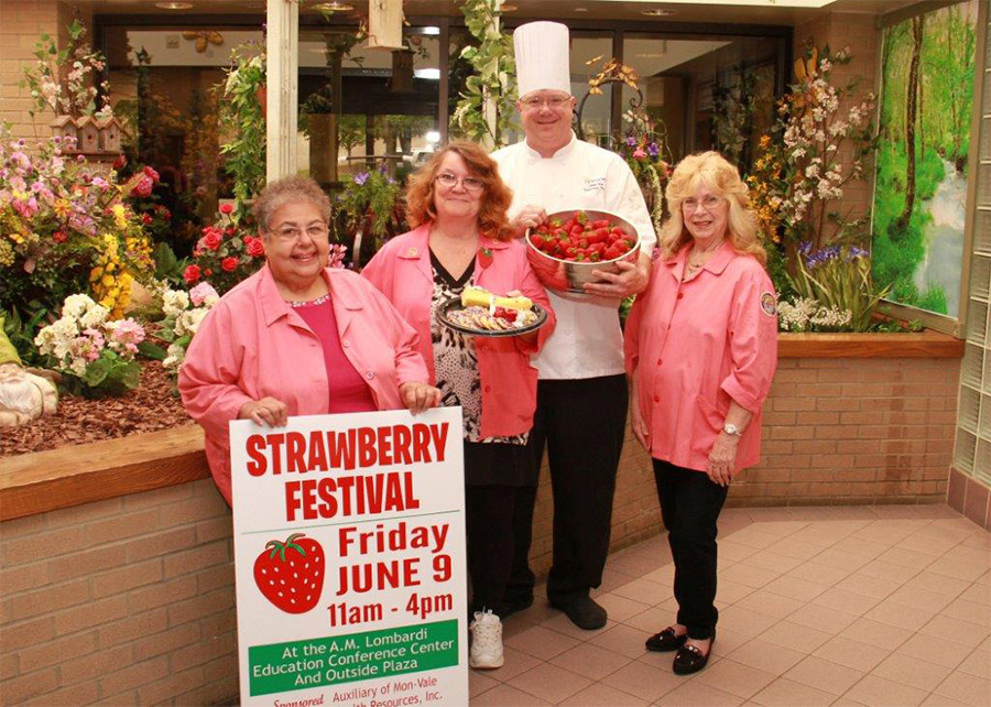 MVH Auxiliary to Hold Strawberry Festival photo