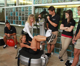 Power Plate Machine at Center for Fitness and Health