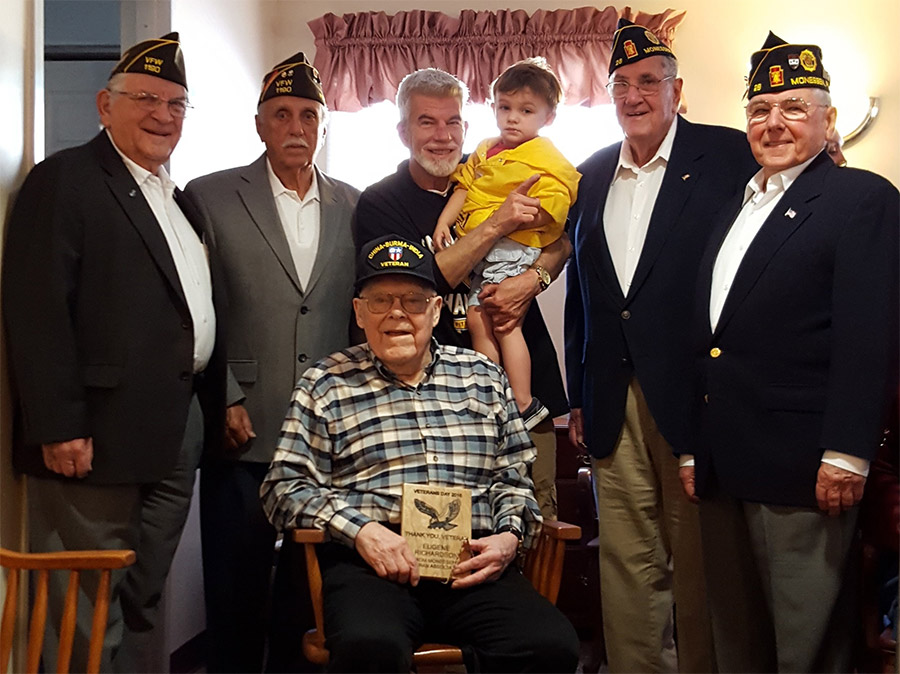 Veterans Honoring Veterans at the Residence at Hilltop photo