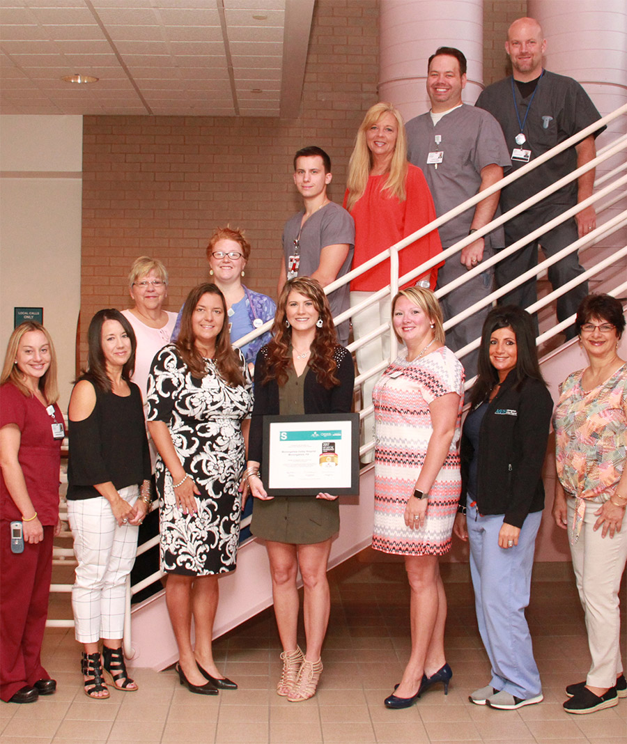 MVH Receives Get With The Guidelines-Stroke Gold Plus Quality Achievement Award With Target: Stroke Honor Roll photo