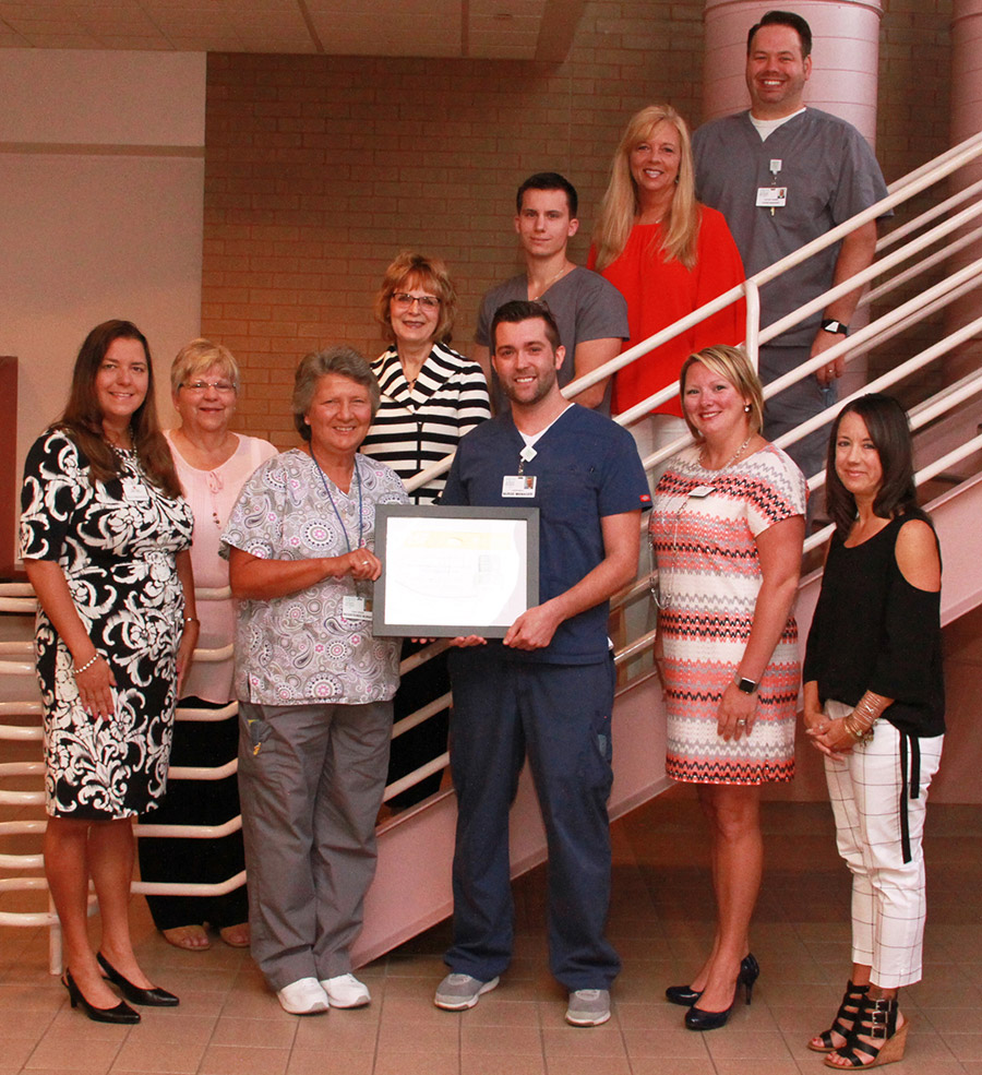 Monongahela Valley Hospital recognized with Silver Plus Award for heart failure care photo