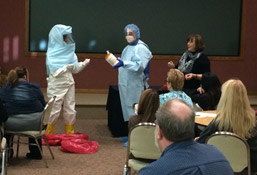 Monongahela Valley Hospital Prepared for Unlikely Chance of Ebola photo