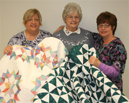 Survivor Donates Quilts to Help Cancer Patients Afford Supplements photo