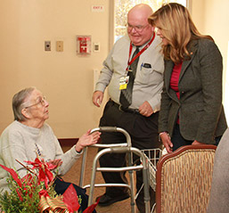 Senator Camera Bartolotta Visits the Residence at Hilltop photo