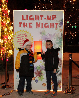 Monongahela Valley Hospital's 29th Annual Light-Up Night celebration photo