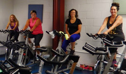 Spinning class photo